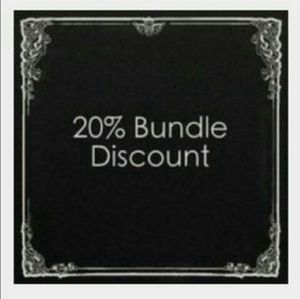 Other - Bundle atleast 2 for 20% Discount!!